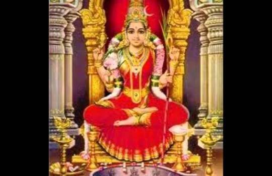 Hindu Goddess Lalitha Devi