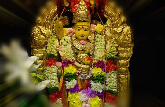 Hindu Goddess Kanaka Durga