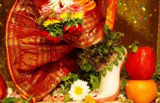 Holy Lotus Feet Of Lord Sri Krishna