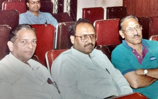 Sridhar Rao Garu With Sriram Sir