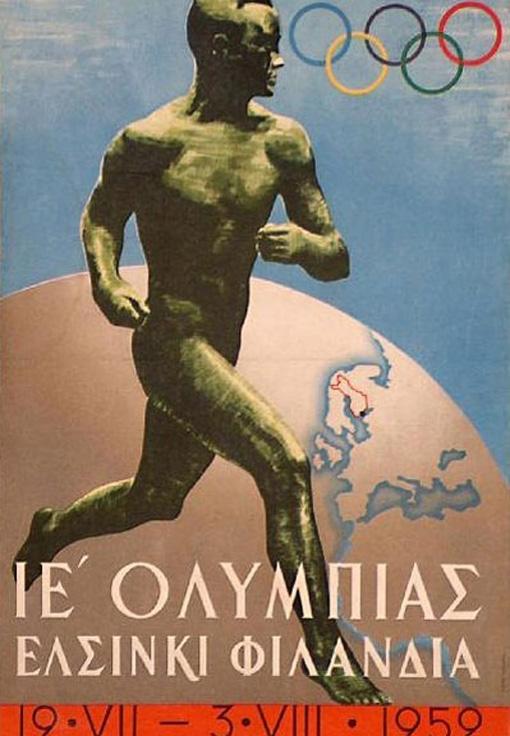 Tutti i poster delle olimpiadi dal 1896 al 2012 tissy tech for Olimpici scandinavi