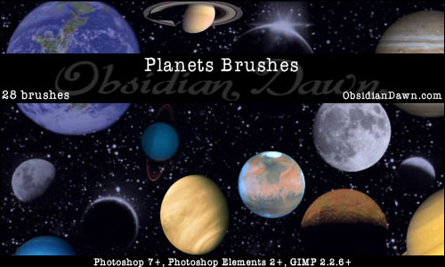 Planets_Photoshop_Brushes