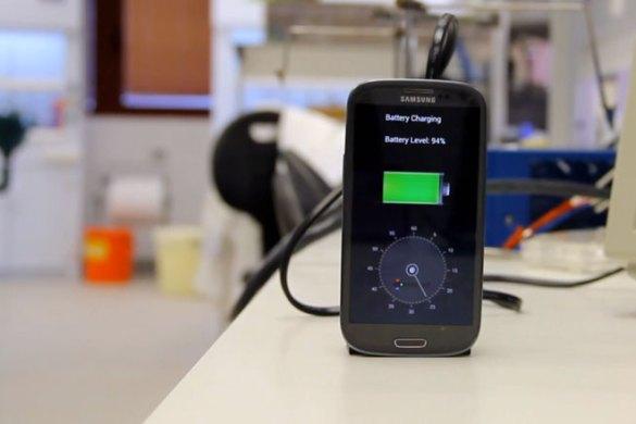 ricaricare smartphone in 30 secondi