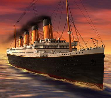 What does R M S Titanic mean       The Titanic  One Century Later Titanic was actually a mail ship  with a designated compartment on G deck   Aboard the Titanic was a Sea Post Office with a crew of