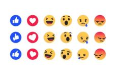 Facebook Reactions Vector