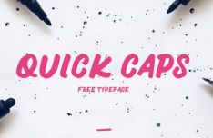 QUICK CAPS Typeface