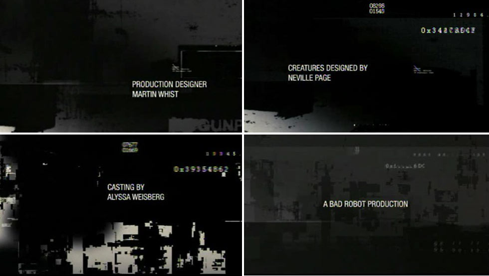 Cloverfield End Title Sequence by PIC AGENCY