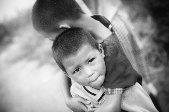 Myanmar - Enfants de Dahla