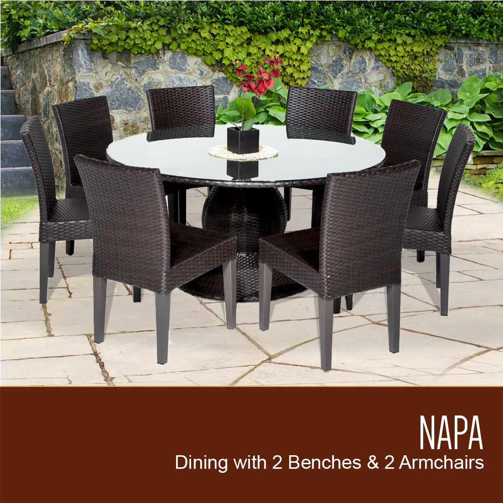 Awesome 10 Patio Table Target Napa Inch Outdoor Patio Table Armless Chairs Patio Table houzz 01 Patio Dining Table
