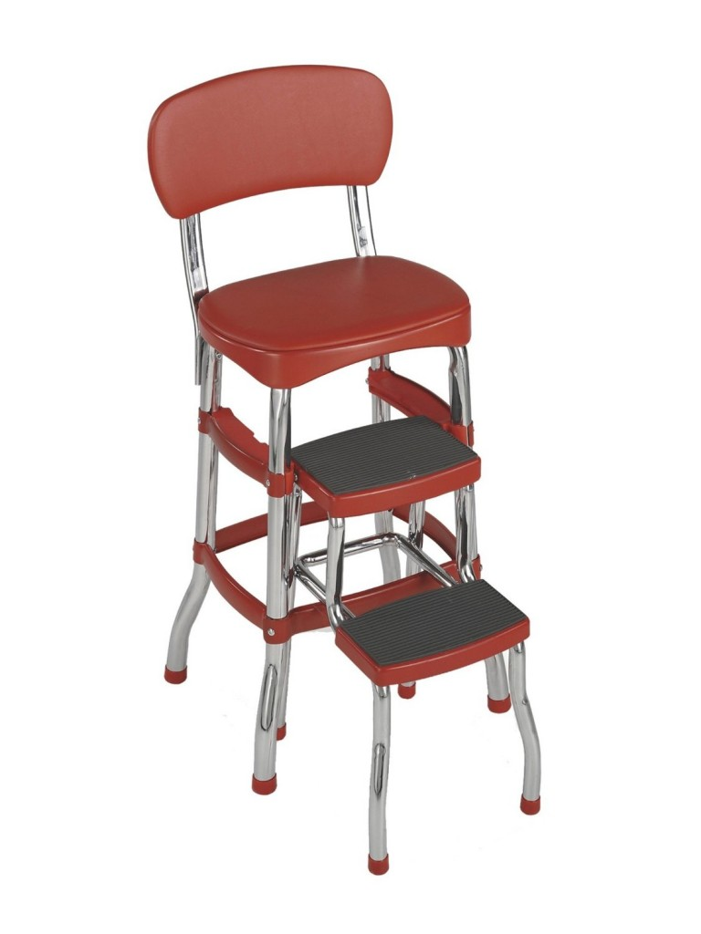 5 best red dining chairs to increase your appetite red kitchen chairs Cosco 11 Red1 Retro Fashion Red