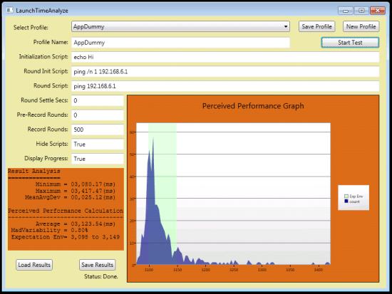 LaunchTimeAnalyze screen shot