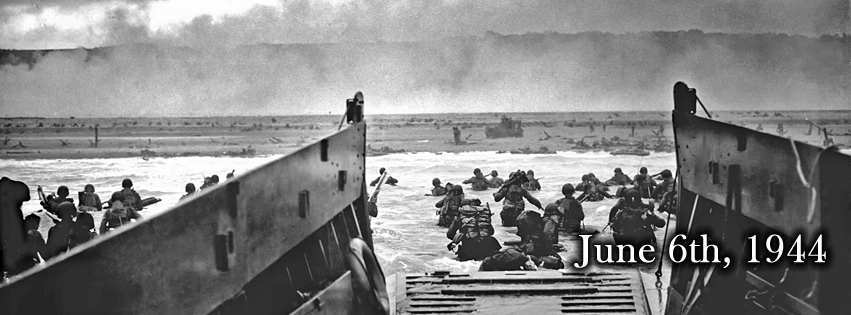 June 6th 1944 D-Day Normandy Landings