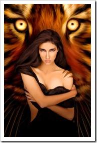 Mujer tigresa