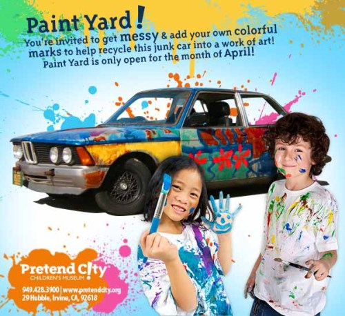 Pretend City Paint Yard