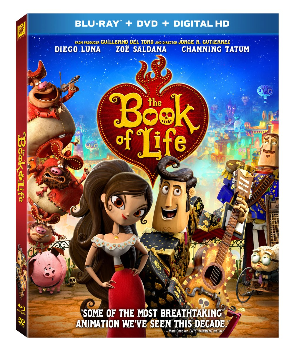 Win It: Book Of Life Blu-Ray DVD | @FHEInsiders #BOLinsiders