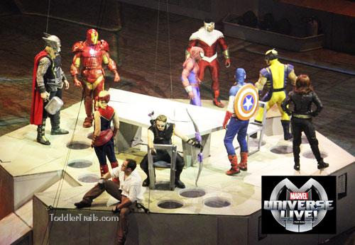 Marvel Universe Live, Marvel Comics, Live Superhero show