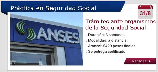 Práctica en Seguridad Social