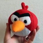 Como hacer un peluche de angry birds para los niños