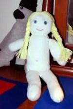 Como hacer una muñeca con una media