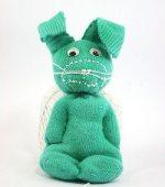 Como hacer muñecos con un calcetin