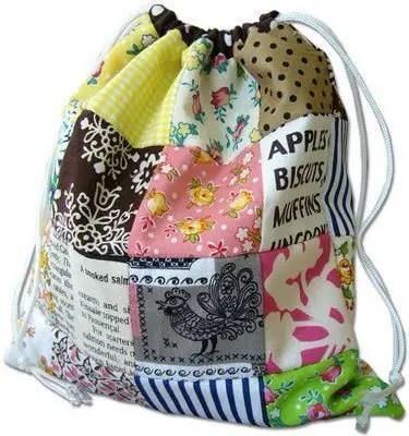 Como hacer un bolso en patchwork todo manualidades - Como hacer pachwork ...