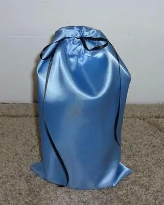 como hacer una bolsa de tela para regalar