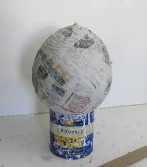 como hacer una piñata