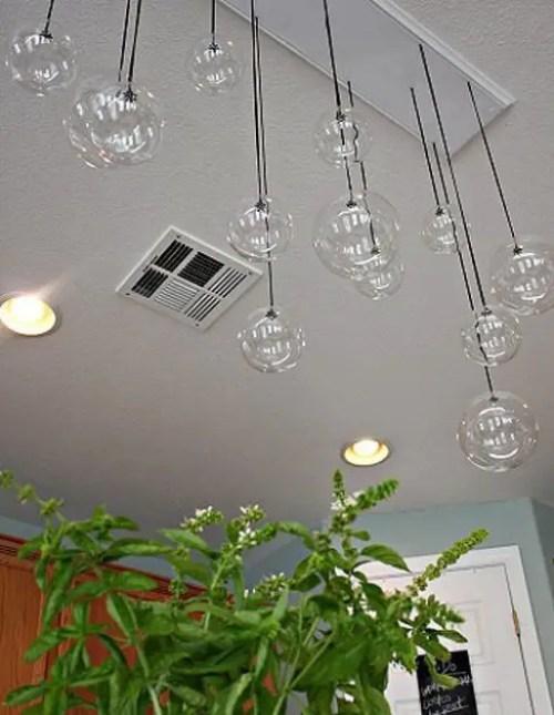manualidades lamparas colgantes