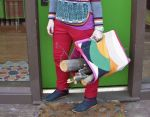 Como hacer una colorida bolsa porta leña