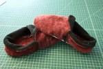 Como hacer sencillas pantuflas de felpa