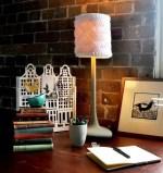 Como hacer una pantalla de lampara tejida