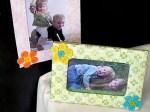 Manualidades de infantiles para el dia de la madre: portaretratos decorado