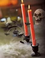 Como hacer portavelas tenebrosos para Halloween