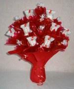 Manualidades de infantiles para el dia de la madre: bouquet de caramelos