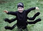 Como hacer disfraces de halloween: disfraz de araña
