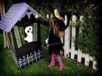 Como hacer una casa de Halloween para niños