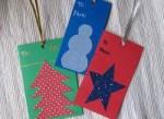 Como hacer tarjetas para regalos navideños
