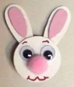 Manualidades de pascua para niños – Conejo Pin