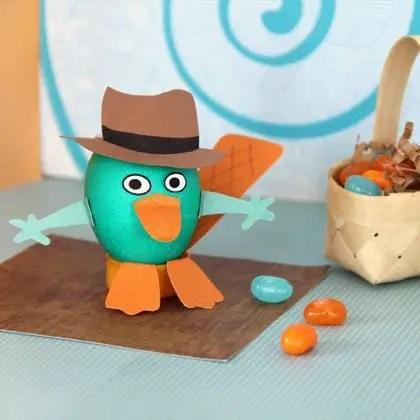 Como hacer un porta huevos de Perry