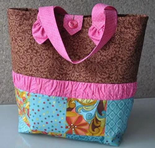 Maquina de coser buscar como hacer un bolso de tela facil - Bolsos para hacer ...