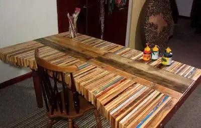 Tenes palets te muestro unas ideas taringa - Como hacer una mesa con palets ...