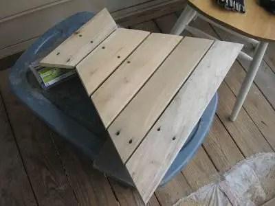 Como hacer una mesa hexagonal con palets todo manualidades - Como hacer una mesa con palets ...