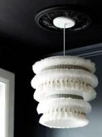 Como hacer una hermosa pantalla de lampara colgante