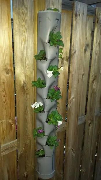 como hacer jardines verticales caseros