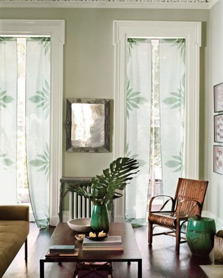 como hacer cortinas sencillas