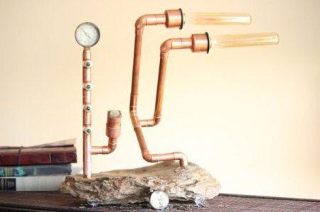 Como hacer lamparas rusticas todo manualidades - Lamparas caseras originales ...