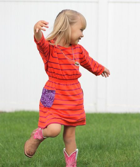 como hacer un vestido de niña sencillo
