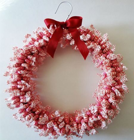 manualidades navideñas con dulces