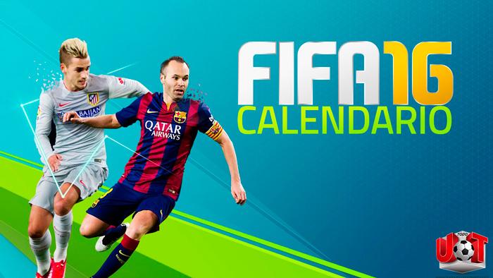 Calendario FIFA 16