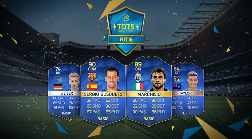 Team of the Season - Community FUT16